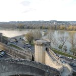  Panorama e ponte di Avignon