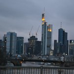  View of frankfurt from the bridges