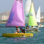 Learn to sail a dinghy