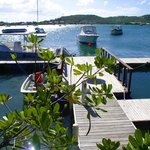 Hostal Casa Culebra's private dock facilities
