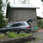  Moose cabin exterior