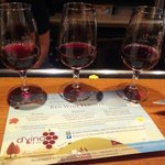 Red Wine Flight Tasting