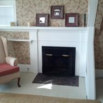 Fireplace in the Canterbury Suite