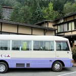 The van that took us to the city and back to the ryokan several times