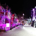 Quebec City decked out for new year's - they know how to do it right