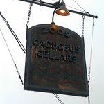Caduceus' sign in the mist