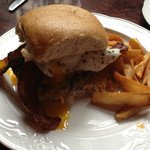 The Hangover Burger from 1886 Cafe and Bakery