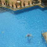  A view from our hotel window of the pool - 2nd floor