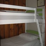  Double bunks in family room