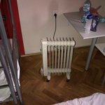 electric heater replacing brocken heating system