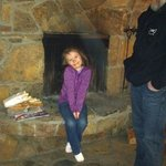  loved the fireplace