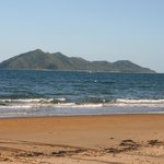  The view of Dunk Island from the beach