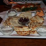 Scrumptious bread and sauces