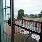  view from room in Amos House in Swansea, Tasmania on Tuesday 1 January 2013