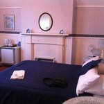 deluxe bedroom of Hillview House B&B in Launceston, Tasmania 1 on Sunday 30 December 2012