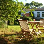 Cafe Garden ~ 4 minutes walk from Porthallow Beach