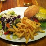  swiss beef burger ... yummy!