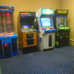 One of the 2 arcade rooms