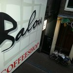 Coffeeshop Balou sign