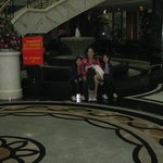  View of hotel lobby