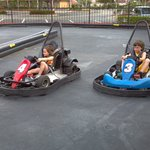 Mini go kart track for kids under 11