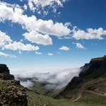  Sani Mountain Lodge view of Sani Pass