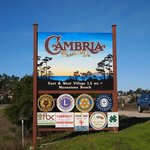Cambria exit from N/B Highway 1