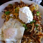 Rosti with Egg and Sour Cream