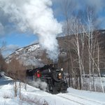 "Memories of the past at Notchland- the ""Steam in the Snow"" special train"