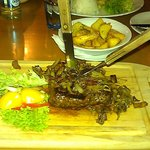  Steak at the hotel restaurant