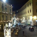  vista dal balcone