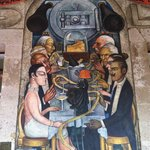 Murales de Diego Rivera en la Secretaria de Educacion Publica
