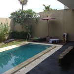  Pool side at villa 12