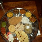  Rajasthani thali