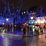 Christmas in Montmarte