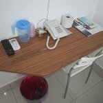  Amenities in writing table