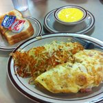 Omelet with sides
