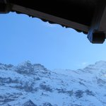  View of Eiger from balcony