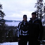 overlooking gunflint lake