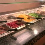 hibachi meats & veggies to choose from, then have cooked fresh before you.