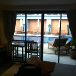 Poolside Deluxe Room.