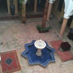 Patio of the Riad Fatinat