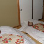 Our room: twin japanese-style