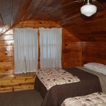Upstairs Bedroom with two Beds