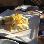 Fennel salad @Baita Pie Tofana, Cortina