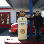 Old Gas Pump