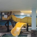  indoor pool slide