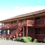  North side of Motel