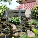  Waterfall feature near to the restaurant