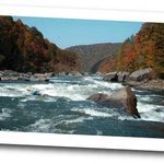 White Water Rafting, Lost Paddle Rapid, Gauley River National Recreation Area